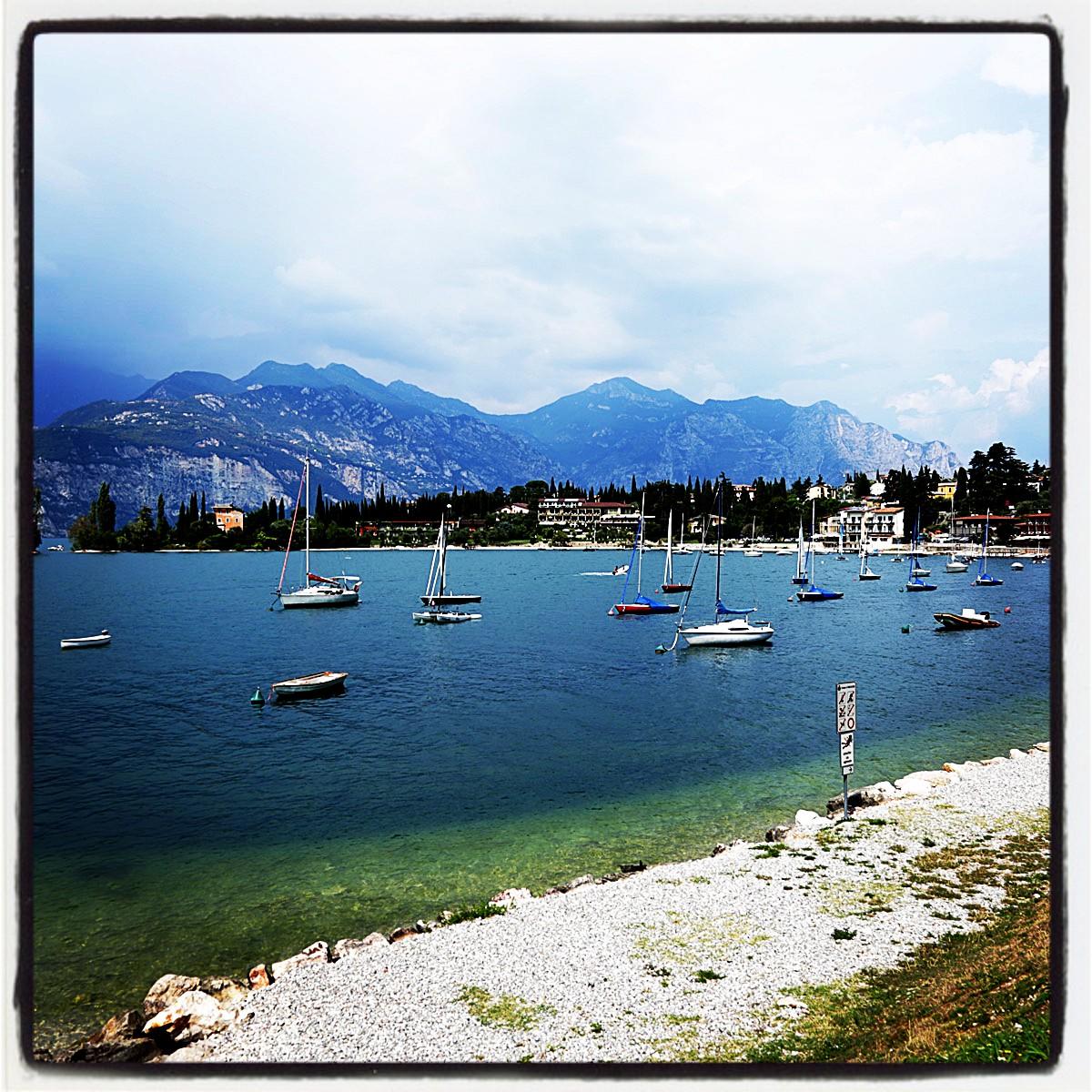 Италия, озеро La Garda